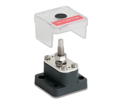 Клемма-штифт одинарный  8 мм с крышкой и металл. прокладкой - фото 2