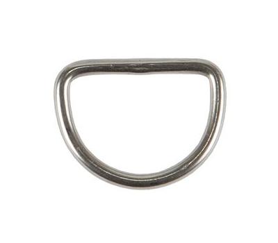 Кольцо малое (25мм) металлическое - фото