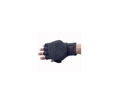 Перчатки с открывающимися пальцами(темно-серые) - фото 2