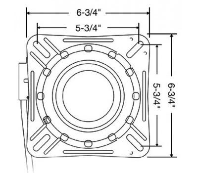 Поворотный переходник с фиксацией (12 положений) - фото 2