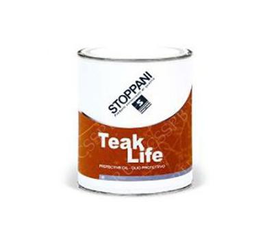 Защитное палубное масло для дерева TEAK LIFE PROTETTIVO (1 литр) - фото