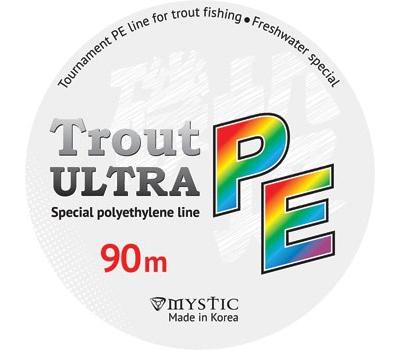Шнур PE MYSTIC Trout ULTRA 90m (0,09/3,8) - фото