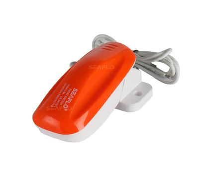 Переключатель поплавковый бело-оранжевый (18A) - фото