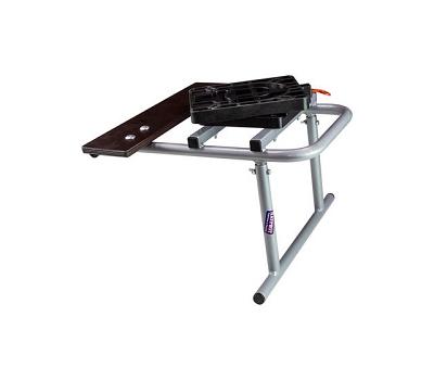 Рама для установки кресла в лодку стальная регулируемая - фото