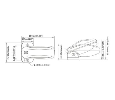 Переключатель поплавковый бело-оранжевый (18A) - фото 4