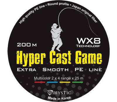 Шнур PE Mystic Hyper Cast Game 200m (0,12/5,6) - фото